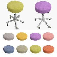 Soft Warm Velvet 10/12/13/14/16inch Round Bar Stool Covers Protector Pad