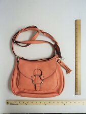 Women's Wall Flower Peach Hand Bag Purse Satchel Style FLASH SALE