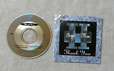 "CD AUDIO MUSIQUE / BOYZ II MEN ""THANK YOU"" 2T CD SINGLE 1995 MOTOWN 860 332-2"