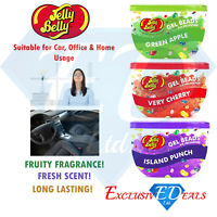 Jelly Belly Air Freshener Gel Beads Scented Fruity Exclusive Product - Pack of 3