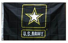 United States Army Gold Star 3' X 5' Foot Flag With 2 Grommets