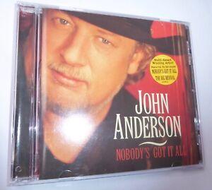 John Anderson-Nobodys Got It All cd