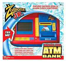 Electronic ATM Savings Bank Learning Toy-Uses real money and card!