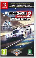 Gear Club Unlimited 2 Tracks Edition Nintendo Switch Game