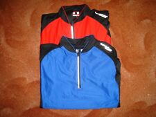 2 x Muddyfox Cycling tops bundle adult medium red/black & blue/black