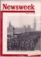 NEWSWEEK magazine-feb 12,1951-BRITISH SOLDIERS:HOW WILL EUROPE MEET THE.........