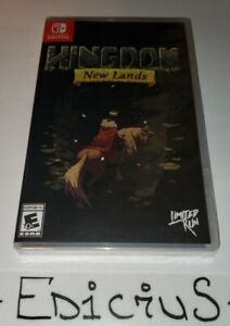 Kingdom: New Lands Limited Run Games #007 Nintendo Switch LRG Factory Sealed
