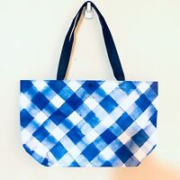 Bath & Body Works Gingham Shopper Tote Bag Large VIP Bag Black Friday 2019