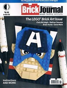 Brickjournal Magazine #32 for Lego Enthusiasts of All Ages TwoMorrows  2015 OOP