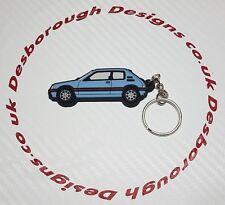 Peugeot 205 gti voiture porte-clés topaz bleu
