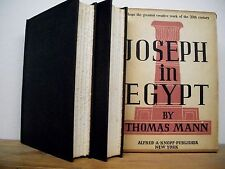 Joseph in Egypt by Thomas Mann (English) (1938, 2 Volume Set, Hardcover)