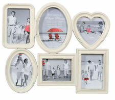 Innova Editions Multi Aperture Opening Collage Picture Frame - Shabby Chic