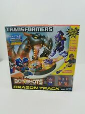 Transformers Bot Shots Battle Game Dragon Track  New