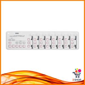 Korg Nano Kontrol 2 Controller Midi Usb Bianco Portatile per Dj Professionale