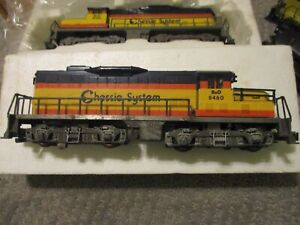 American Flyer Chessie GP-20 set- DC Both powered (11/19/20)