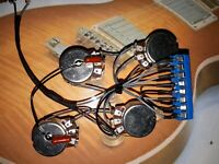 les paul solderless lp guitar wiring harness with switch