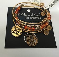 """ALEX AND ANI """"WATERCOLOR TANGERINE, IF IT'S MEANT TO BE, MY LOVE IS ALIVE"""" NWT"""