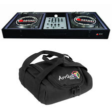 Odyssey Cases CBM10E Econo Carpeted Battle Mode DJ Turntable Console Arriba Bag