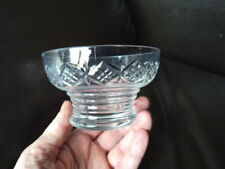 Bowl Art Deco Crystal Glass