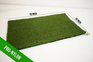 Winter Rules Golf Fairway Chipping Mat Protect Your Course Spring Clip