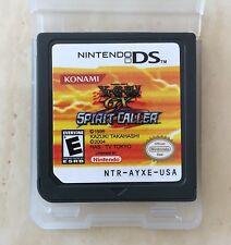 Yu Gi Oh GX Spirit Caller NDS Nintendo DSi DS Lite XL Yugioh Oh! Card Duel Game