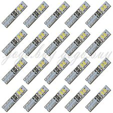 20 x White 6000K 58 70 73 74 T5 Dashboard Gauge 4 3014 SMD LED Wedge Bulb Light