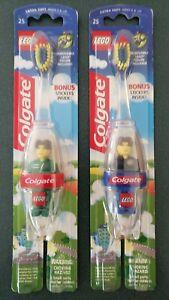 Lego Colgate Toothbrushes - Jack Stone - Set of 2