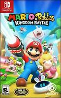 Mario + Rabbids Kingdom Battle (Nintendo Switch, 2017) BRAND NEW