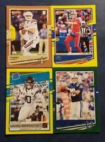 2020 Donruss Football Bronze Green and Yellow Press Proof You Pick