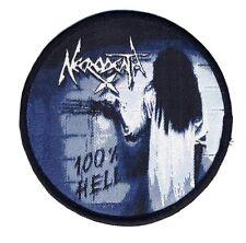 NECRODEATH - 100% Hell - Aufnäher / Patch - Neu - #4976