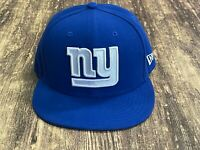 New York Giants New Era Men's Blue NFL Football Hat - 7 ⅛