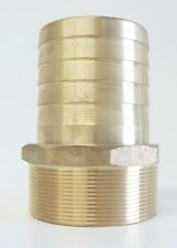"""NEW Hose Barb Brass 75mm 3"""" Male BSP - TOP QUALITY - Tail Fitting 80mm"""