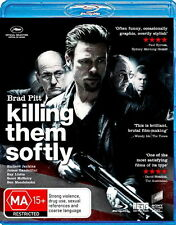 Killing Them Softly - Action/ Crime/ Thriller / Drama - Brad Pitt - NEW Bluray