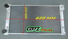 ALUMINUM RADIATOR VW GOLF GTI/JETTA GLI/SCIROCCO/RABBIT/CABRIOLET 8V/16V 80-92