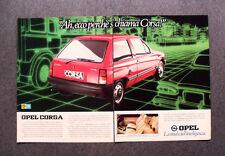 [GCG] M422 - Advertising Pubblicità - 1983 - OPEL CORSA