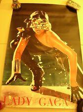 Lady Gaga The Fame LOT posters FREE perfume parfum samples & cards & promo shirt