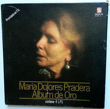 MARIA DOLORES PRADERA Album de Oro 4-LP BOX Spain Press