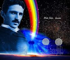 The Truth About Nikola Tesla CD 9 Books Inventions Free Energy AC Power Patents