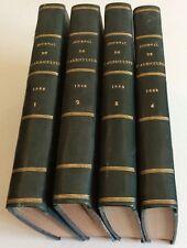 Journal de l'agriculture de la ferme et des maisons de campagne 4 vol  1869