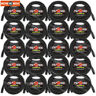 20-Pack Pig Hog 3-Pin 25 ft DMX Cables Shielded Stage Lighting Data Cable