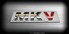 1 - NEW vw MKV chrome badge emblem gti jetta gli tdi audi a4 a6 (MKV)