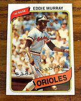 1980 Topps #160 Eddie Murray - Orioles HOF