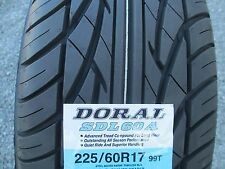 4 New 225/60R17 Inch  Doral Tires 2256017 225 60 17 60R R17