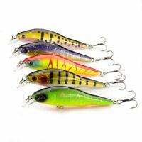Minnow Fishing Lure 9cm 9.5g Jerkbait Wobblers Fishing Tackle 3d Eyes Crankbait