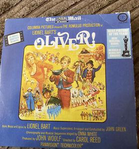 LIONEL BART'S  OLIVER ORIGINAL FILM SOUNDTRACK  PROMO CD