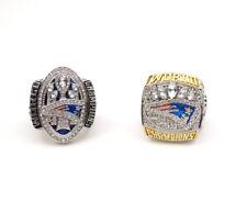2 Pcs Ring 2016 New England Patriots Championship Ring Great Gift !!