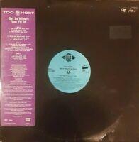 TOO SHORT - GET IN WHERE YOU FIT IN (2xLP, ALBUM, PROMO) VINYL RECORDS