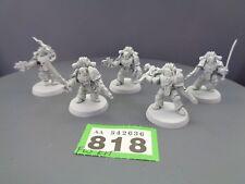 Warhammer 30,000 marines espaciales Forge World World caprichosos Despoiler escuadrón 818