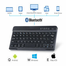 "US Keyboard Bluetooth For iPad 9.7"" 2018/10.2 10.5 2019 Android & Windows Tablet"