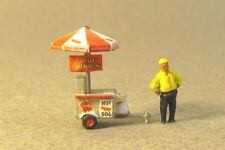 N Scale Bart's Hot Dog Cart Kit for Model Railroad  by Showcase Miniatures (526)